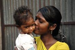 Vida en el área de las minas de carbón de Jharia en la India Imagen de archivo