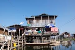 Vida en el lago Imágenes de archivo libres de regalías