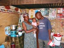 Vida en el municipio, Soweto Imágenes de archivo libres de regalías