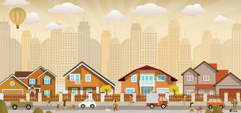 Vida en la ciudad libre illustration
