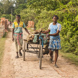 Vida en la India rural Fotografía de archivo libre de regalías
