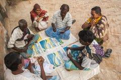 Vida en la India rural Fotografía de archivo