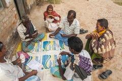 Vida en la India rural Imagenes de archivo