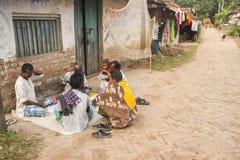 Vida en la India rural Fotos de archivo libres de regalías