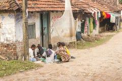 Vida en la India rural Foto de archivo libre de regalías