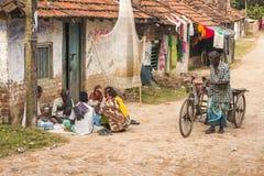 Vida en la India rural Imagen de archivo