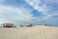 Vida en la playa Foto de archivo libre de regalías