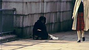 Vida en las calles de Londres metrajes