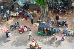Vida en las calles de Sri Lanka Imagen de archivo libre de regalías