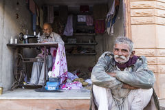 Vida en Osian, Jodhpur, Rajasthán Fotos de archivo