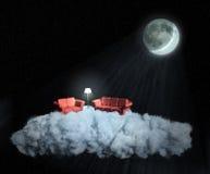 Vida en una nube Fotos de archivo libres de regalías