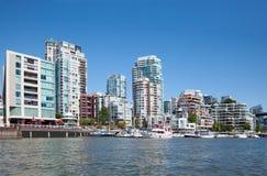 Vida en Vancouver Imagen de archivo libre de regalías