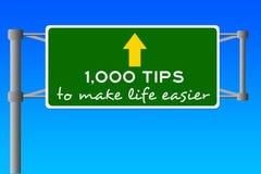 Vida fácil ilustração stock