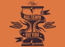 Vida för Mas-tiempoque Arkivbilder
