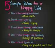 Vida feliz Imagem de Stock Royalty Free