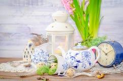 Vida floral de la primavera aún con el jacinto Foto de archivo libre de regalías