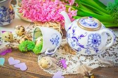 Vida floral de la primavera aún con el jacinto Imagen de archivo libre de regalías