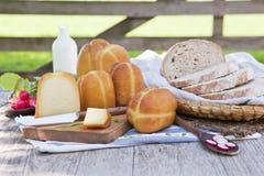 Vida fumada tradicional del queso aún. Fotos de archivo libres de regalías