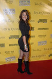 Vida Guerra on the red carpet. Royalty Free Stock Photography