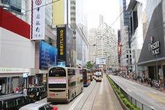 Vida high-density ocupada com residencial misturado Fotografia de Stock