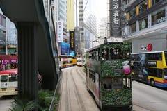 Vida high-density ocupada com residencial misturado Fotos de Stock