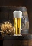 A vida imóvel com cerveja Fotografia de Stock Royalty Free