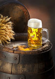 A vida imóvel com cerveja Imagem de Stock Royalty Free