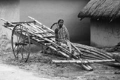 Vida indiana da vila Imagem de Stock