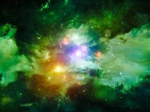 Vida interna de la nebulosa Fotos de archivo libres de regalías