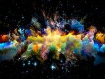 Vida interna del espacio fotografía de archivo
