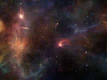 Vida interna del espacio Imagen de archivo