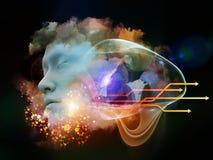 Vida interna del sueño ilustración del vector