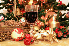 Vida morna do Natal ainda Fotos de Stock Royalty Free