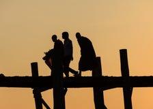 Vida Myanmar oy Fotografia de Stock