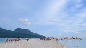 Vida na praia Fotos de Stock Royalty Free
