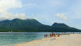 Vida na praia Fotografia de Stock Royalty Free