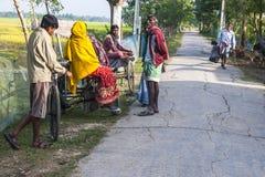 Vida na vila indiana Imagem de Stock