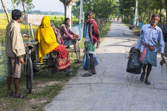 Vida na vila indiana Imagens de Stock