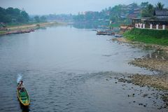 Vida no rio Fotografia de Stock