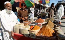 Vida no vale do golpe, Paquistão Imagem de Stock