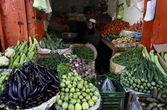 Vida no vale do golpe, Paquistão Fotos de Stock