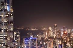 Vida nocturna de Gold Coast Fotos de archivo libres de regalías