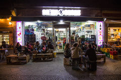 Vida nocturna de Kreuzberg Fotos de archivo