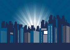 Vida nocturna de la ciudad libre illustration