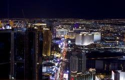 Vida nocturna de Las Vegas Fotografía de archivo