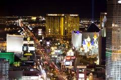 Vida nocturna de Las Vegas Imagen de archivo