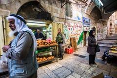Vida normal en Jerusalén, Israel imagenes de archivo