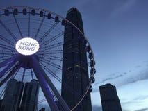 Vida noturno de Hong Kong Fotos de Stock