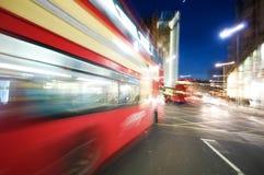 Vida noturno de Londres Fotografia de Stock