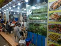Vida noturno em Hong Kong fotografia de stock royalty free